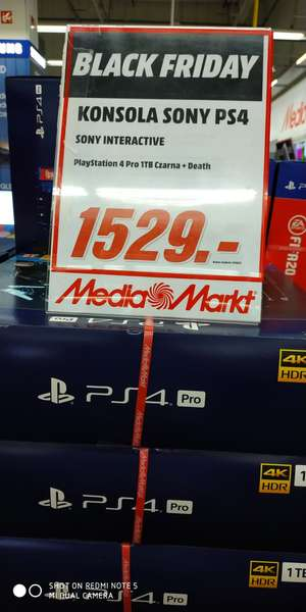 PlayStation 4 pro death stranding lub fifa 20 - Media Markt