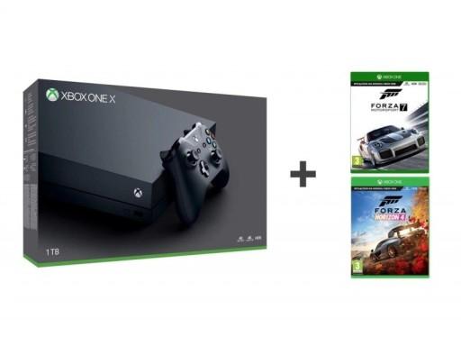 Konsola Xbox One X 1TB + Forza Horizon 4, Forza 7