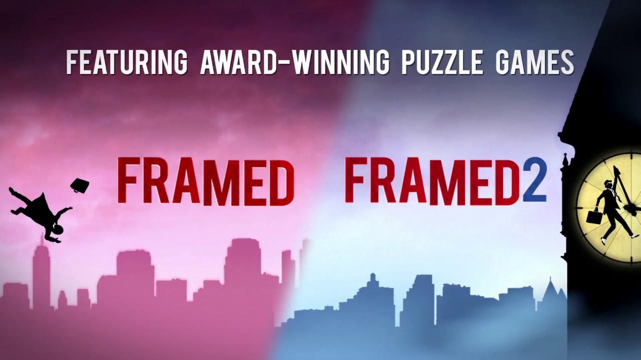 Google Play FRAMED, FRAMED 2 - komiksowe łamigłówki plus promocja na wybrane gry studia Noodlecake Android