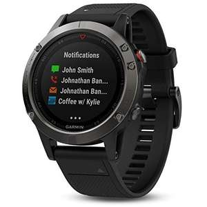 Garmin Fenix 5 czarny - Amazon DE