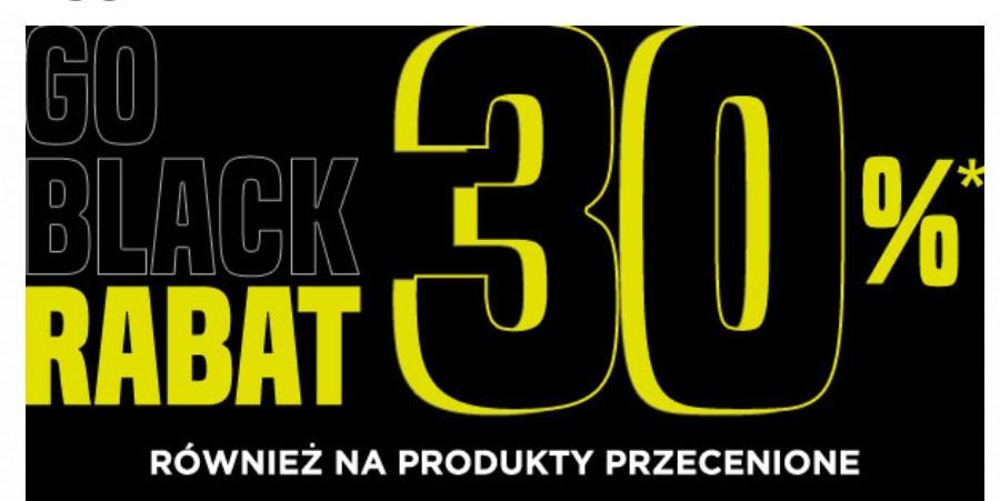 -30% na produkty w tym również na już przecenione