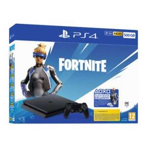 PS4 500GB + Fortnite w Empiku