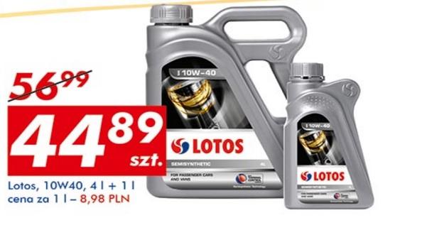 Olej samochodowy Lotos 10W40 4L +1L