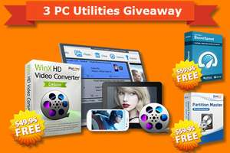 3 PC programów za darmo, wartości 169$ @Auslogics @WinXDVD @EaseUs