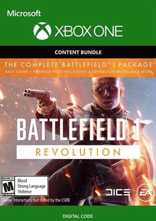 Battlefield 1 Revolution + Battlefield 1943 Xbox One cd-keys