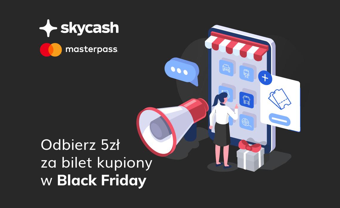Odbierz 5 zł za bilet kupiony w SkyCash (z Masterpass)