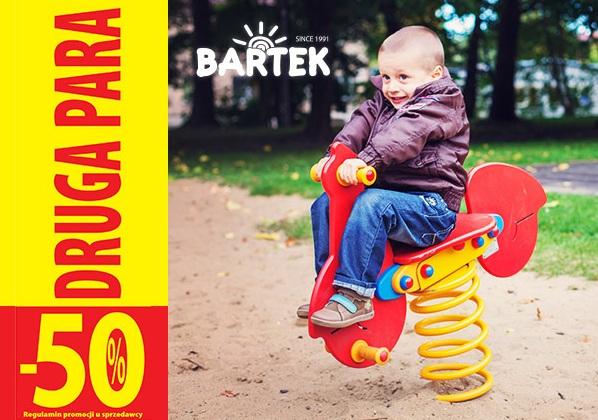 Druga para butów 50% taniej @ Bartek