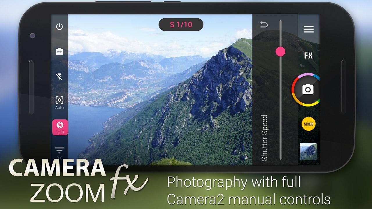 Camera ZOOM FX Premium -90%. Android