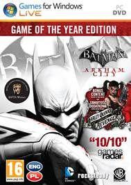 BATMAN: ARKHAM CITY: GAME OF THE YEAR EDITION PL KLUCZ PC/Steam