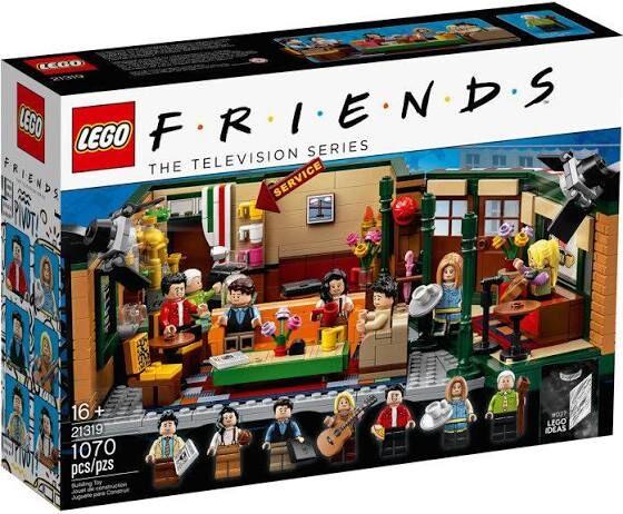 Lego ideas Central Perk 21319 w niskiej cenie @ Empik