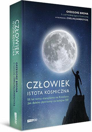"""Książka """"Człowiek - istota kosmiczna"""" polecana przez Astrofazę"""