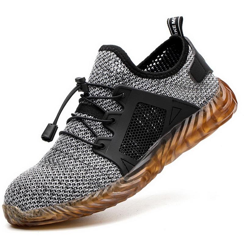 Buty robocze antyprzebiciowe ze stalowym noskiem