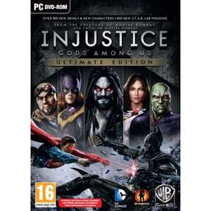 INJUSTICE: GODS AMONG US ULTIMATE EDITION PL KLUCZ PC/Steam