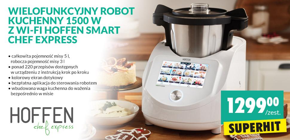 Robot kuchenny Hoffen Chef Express Biedronka, nowa wersja WI-FI