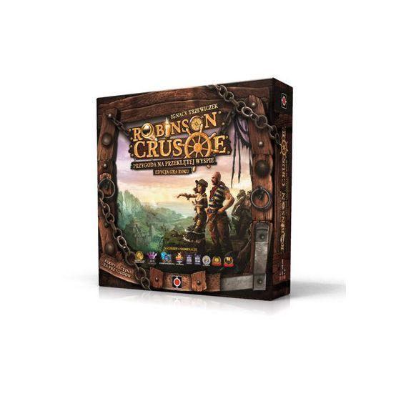 Wyprzedaż gier planszowych w 3Trolle. Robinson Crusoe: Edycja Gra Roku