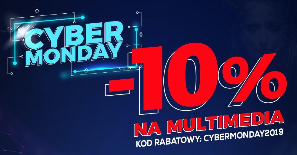 -10% na multimedia z okazji Cyber Monday