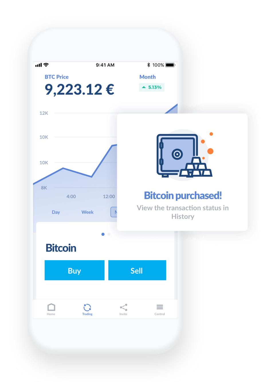 Cybermonday: 30,00 Euro w Bitcoin'ach dla każdego nowego użytkownika Bitwala - darmowe konto bankowe z kartą kredytową