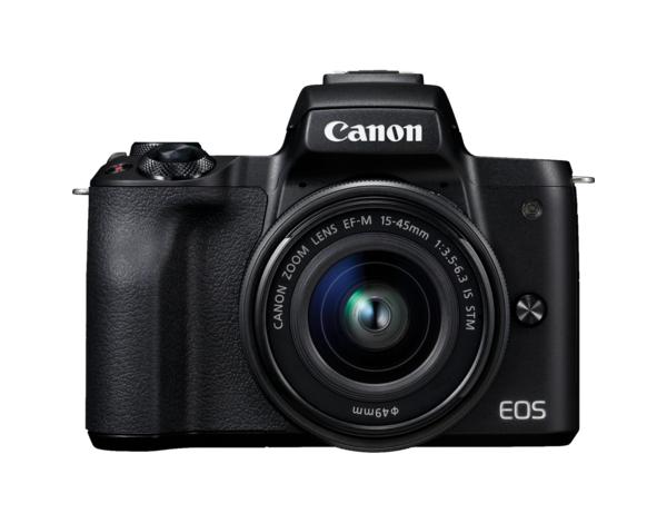 Bezlusterkowiec Canon EOS M50 + EF-M 15-45mm + Torba SB130 + Karta pamięci 16GB