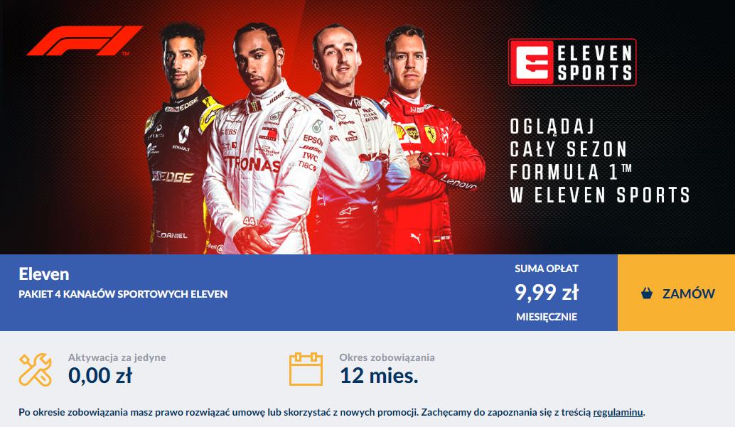 Eleven Sports za 9,99zł miesięcznie dla klientów Vectra
