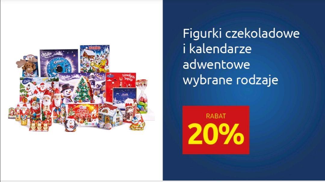 Kupon w aplikacji - 20% figurki czekoladowe i kalendarze adwentowe w Carrefour