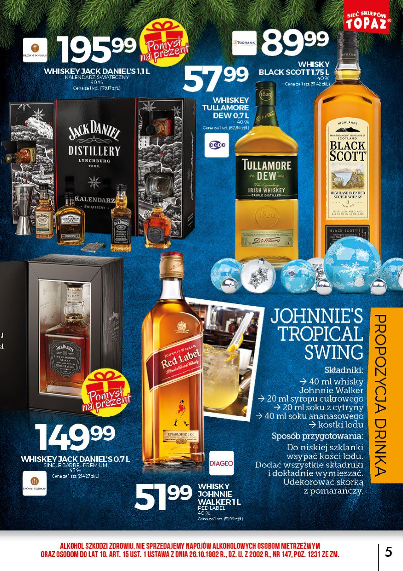 Jack Daniels single barell whisky @Topaz