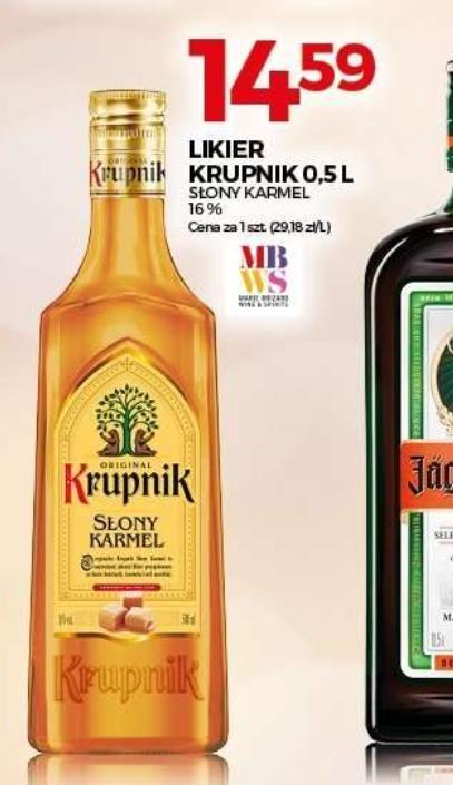 Topaz Krupnik Słony Karmel 0,5