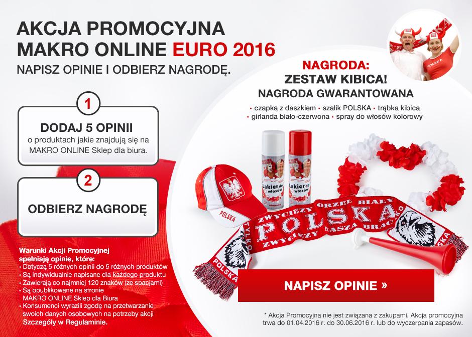 ZA DARMO: zestaw na EURO 2016: czpka, szalik, spreye, girlanda i trąbka
