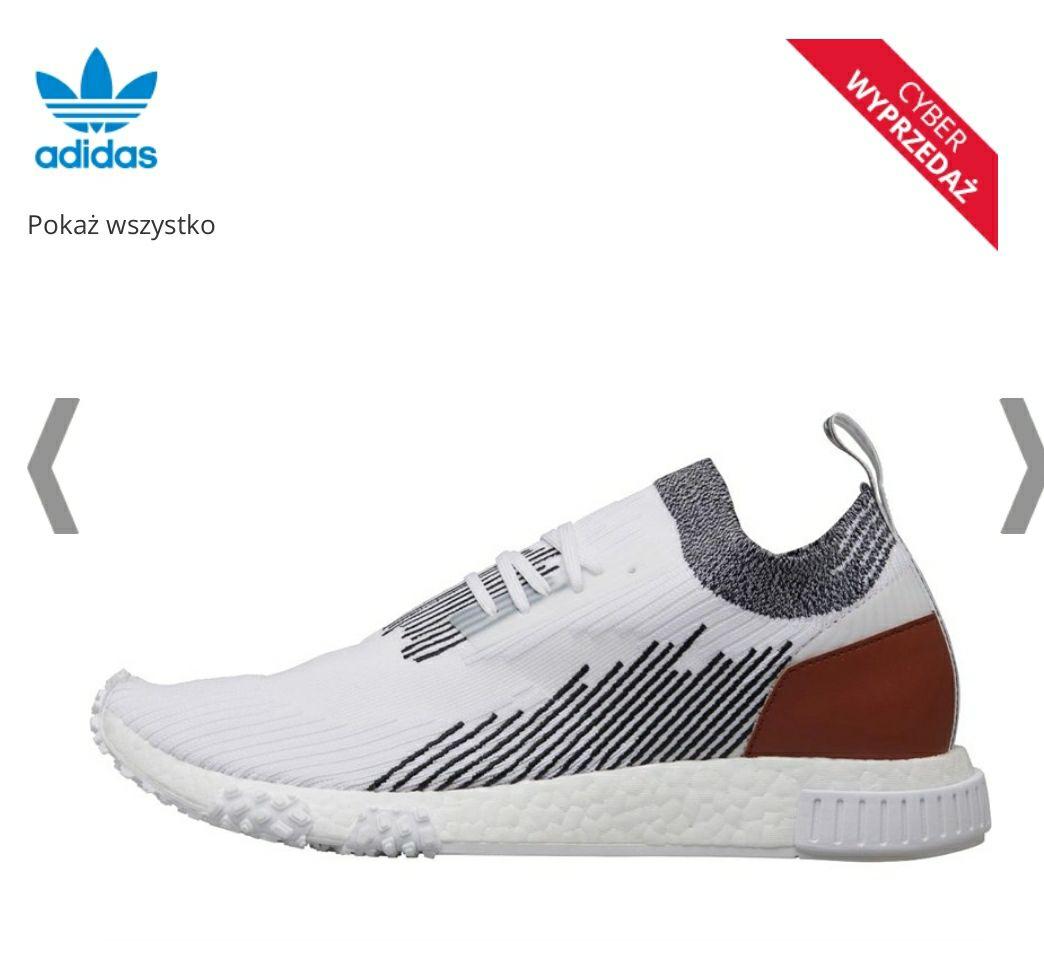 adidas Originals NMD Racer Buty Sportowe Biały @ MandMdirect