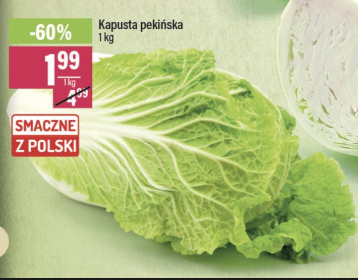 Kapusta pekińska 1,99zł za 1kg - Mila