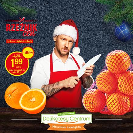 Pomarańcze siatka / 1kg przy zakupie za min 49 zł