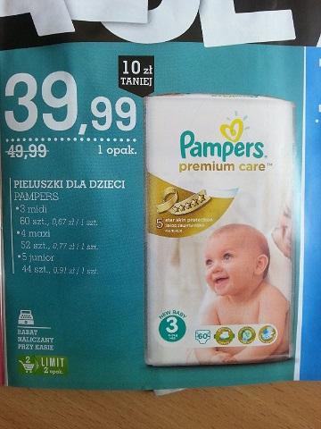 Pampers Premium Care w Intermarche w Radomsku