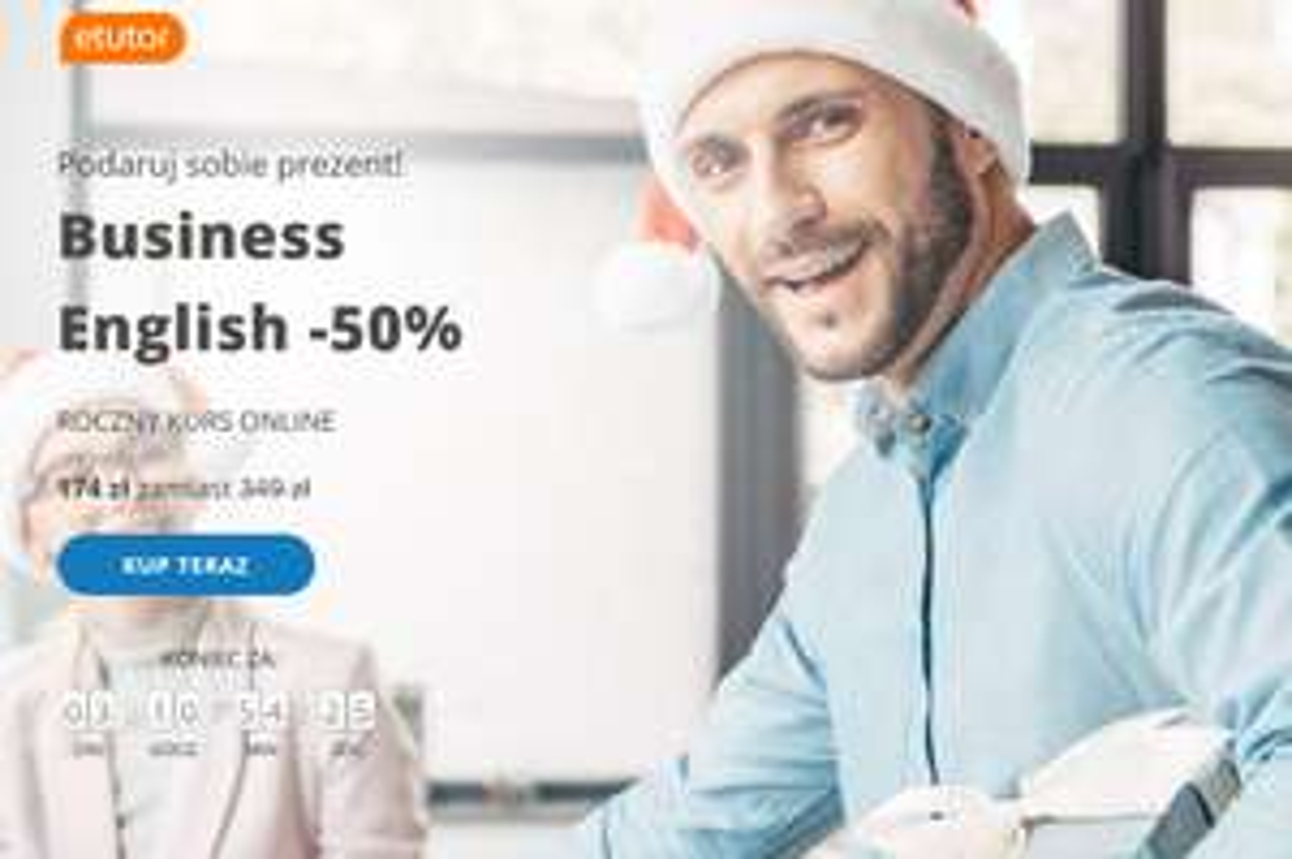 eTutor Business English -50%