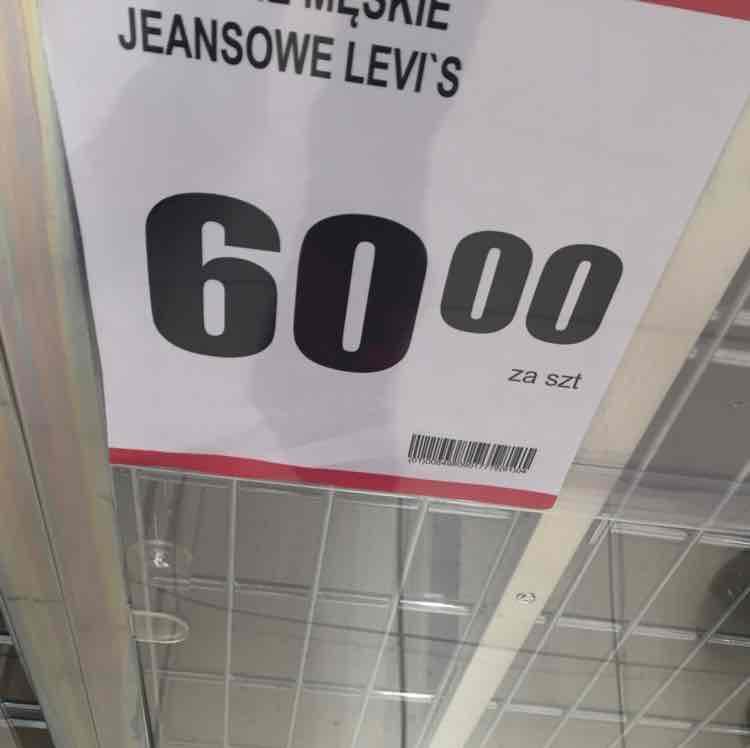 Spodnie LEVI'S ! Biedronka