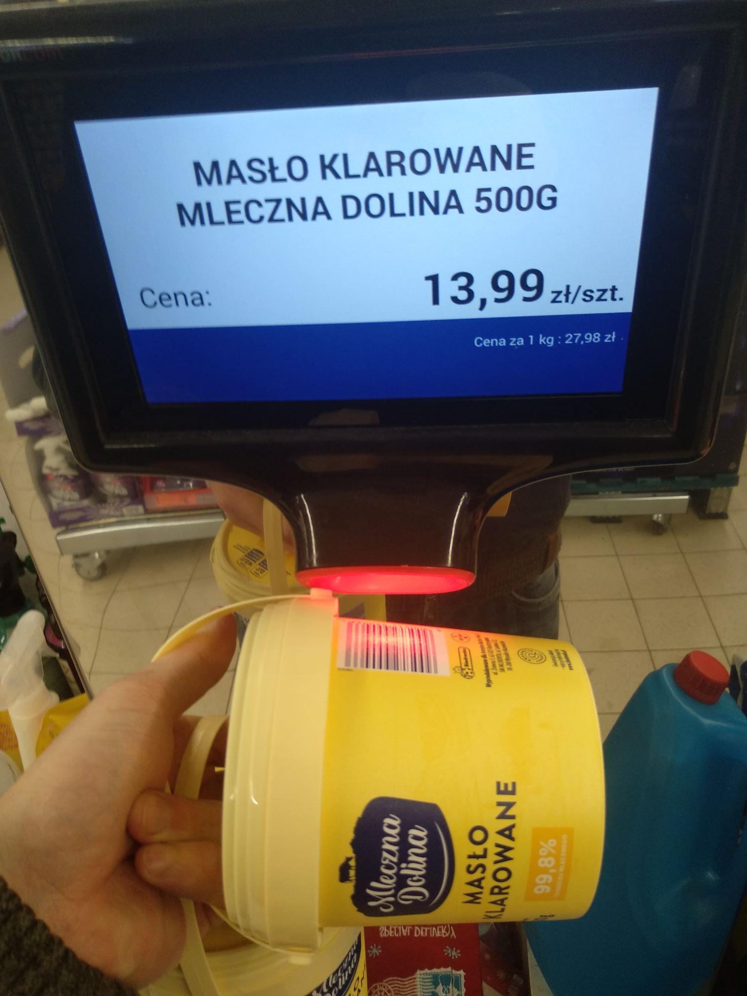 Biedronka - maslo klarowane mleczna dolina (mlekowita)