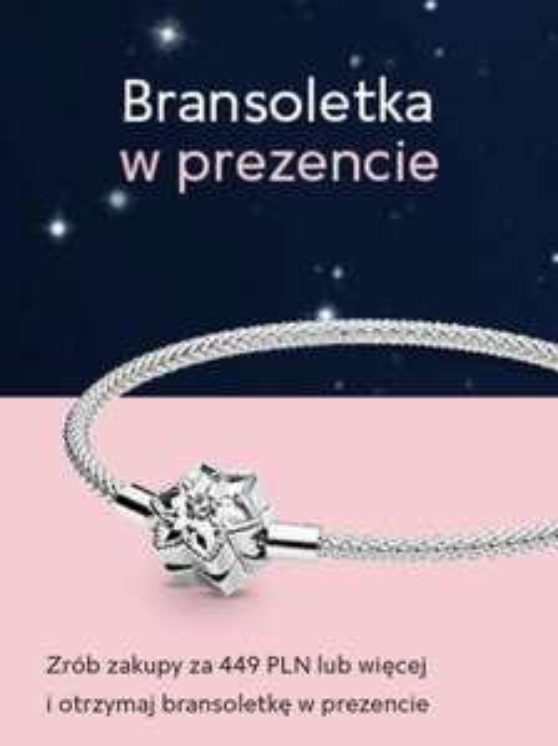 Pandora - Bransoletka w prezencie