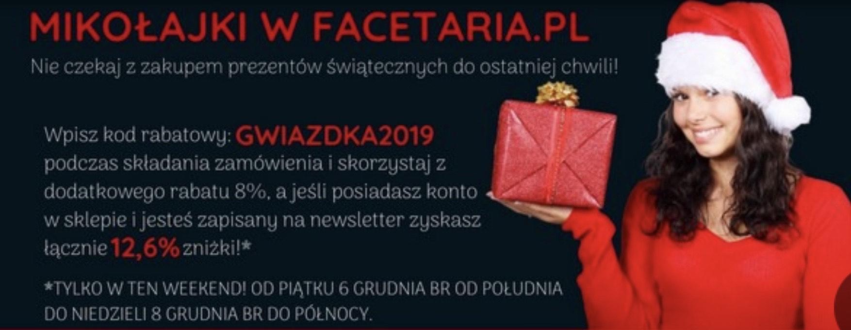 Rabat w Facetaria.pl