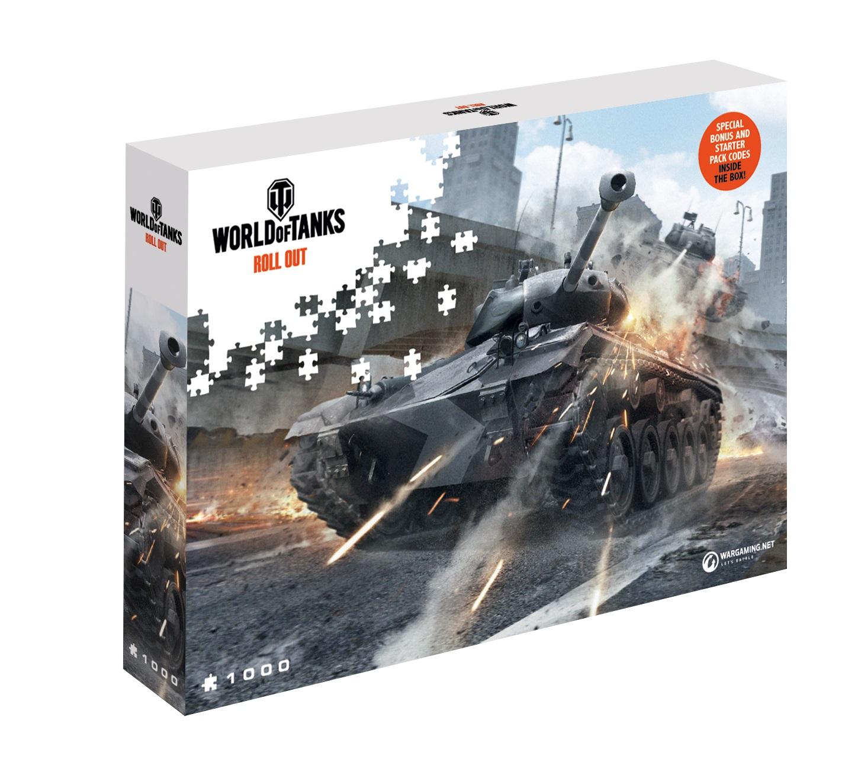 Puzzle 1000 world of tanks / world of warships