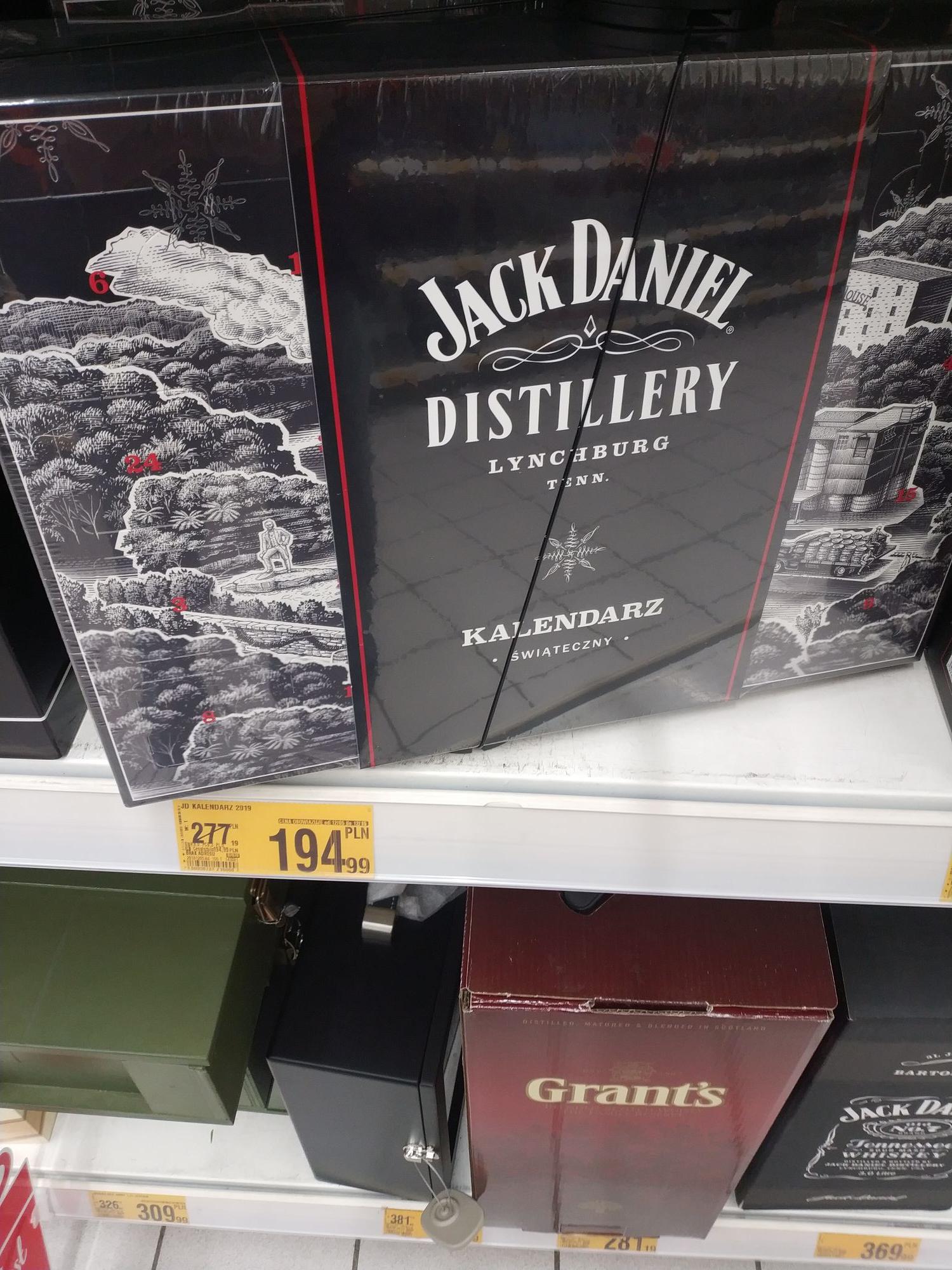 Jack Daniels kalendarz adwentowy