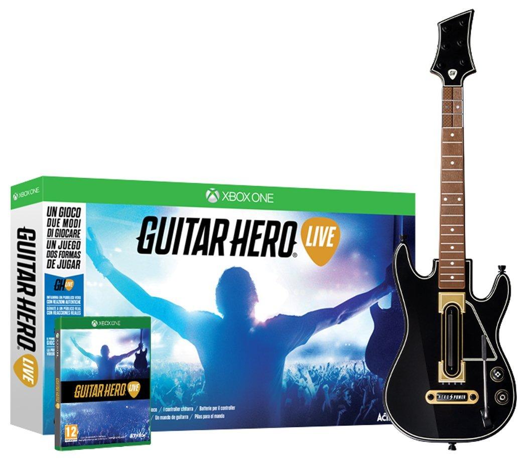 Guitar Hero Live (gitara+gra) na Xbox One za 200zł z dostawą @ Amazon.de