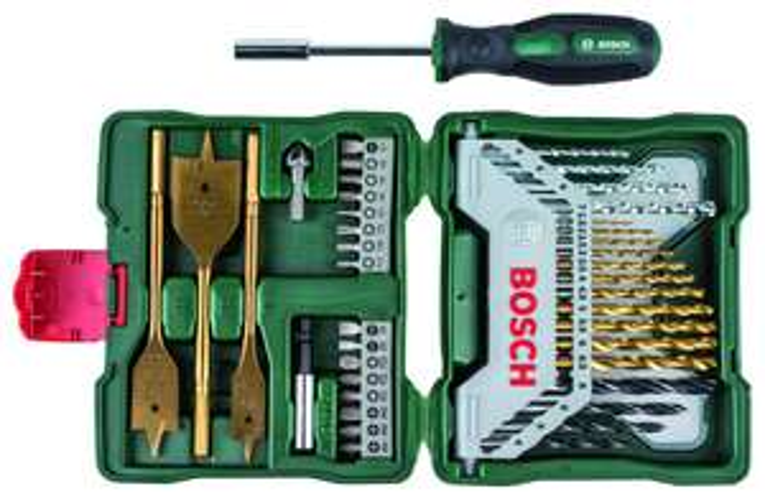 Bosch 2607019600 Zestaw X-Line 40 Elementów + śrubokręt @Bricoman