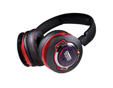 Słuchawki bluetooth Creative Sound Blaster EVO ZXR za 99,99€ z dostawą do Polski @ Creative
