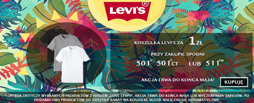 Koszulka za 1zł przy zakupie spodni Levi's @ Bluestilo