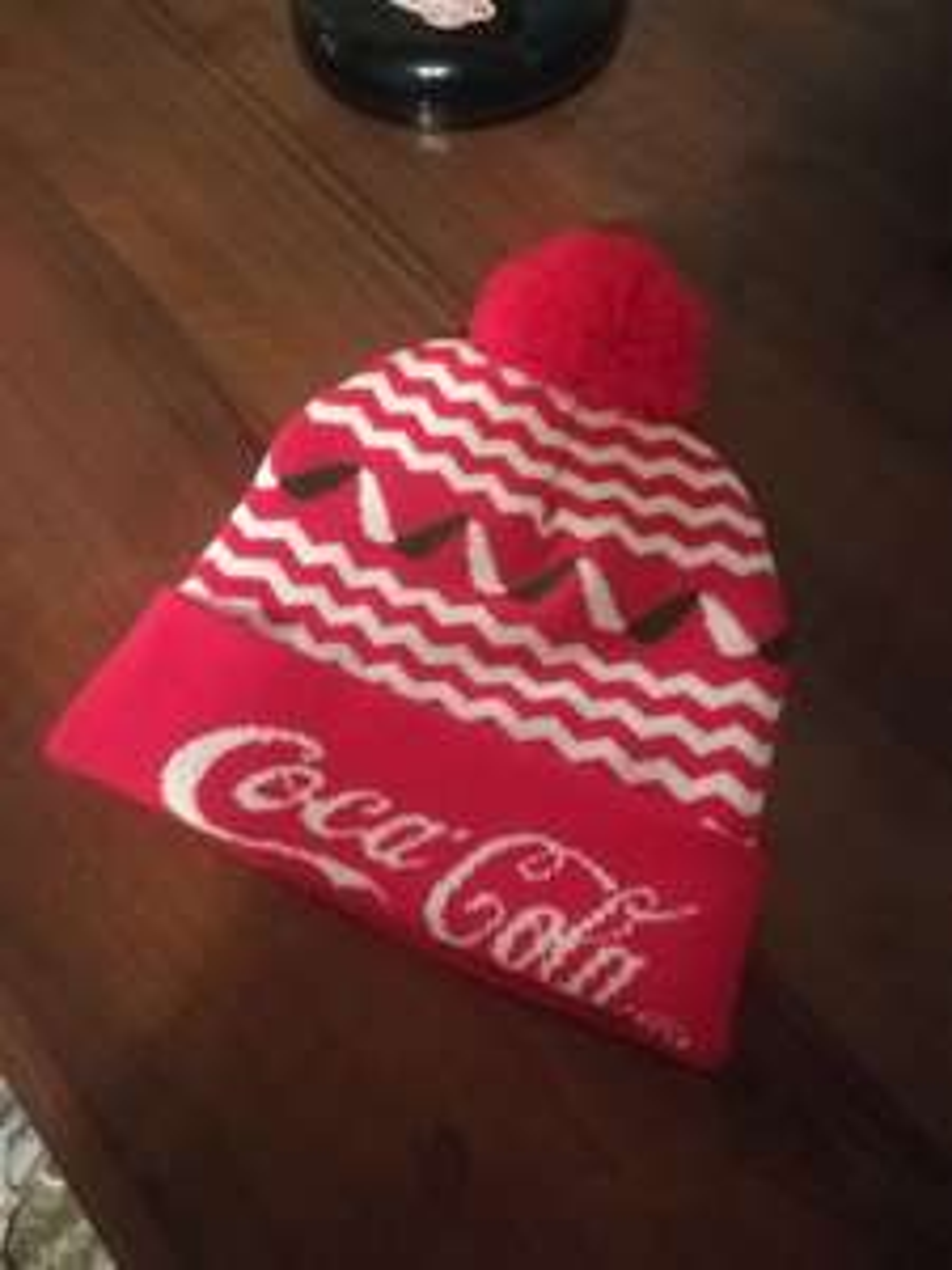 Czapka zimowa Coca-cola gratis