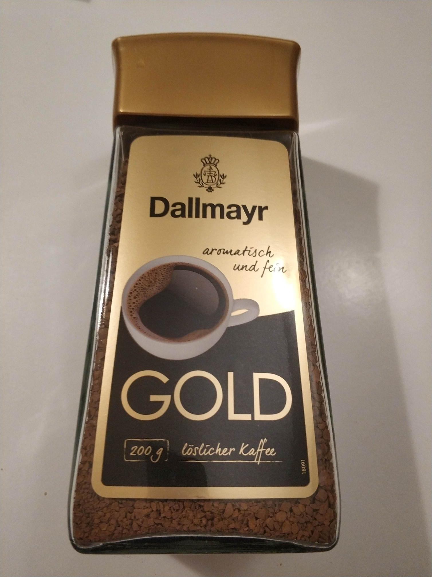 Kawa Dallmayr Gold 200g Auchan