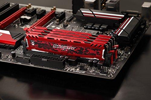 32GB (8x4) Crucial Ballistix Sport 2400MHz cl16 RAM ddr4 pamięć amazon