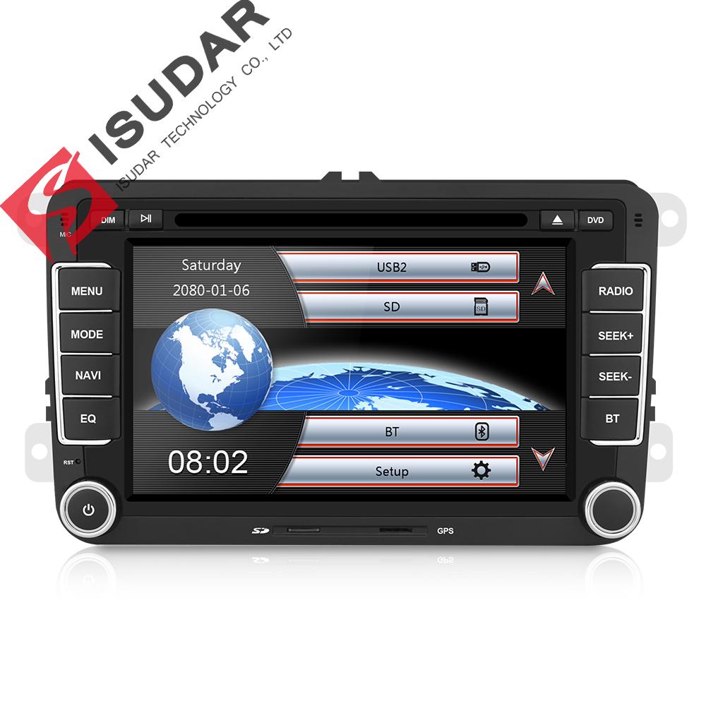 """Isudar - radio 2 DIN 7"""" z GPS dla Volkswagena, Seata i Skody z Niemiec @AliExpress"""