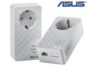 Dwupak adapterów Asus 600 Mbps Powerline @ibood