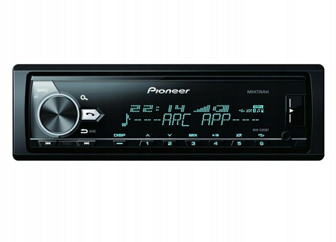 Radio samochodowe Pioneer MVH-X580BT ( cena z wysyłką kurier )