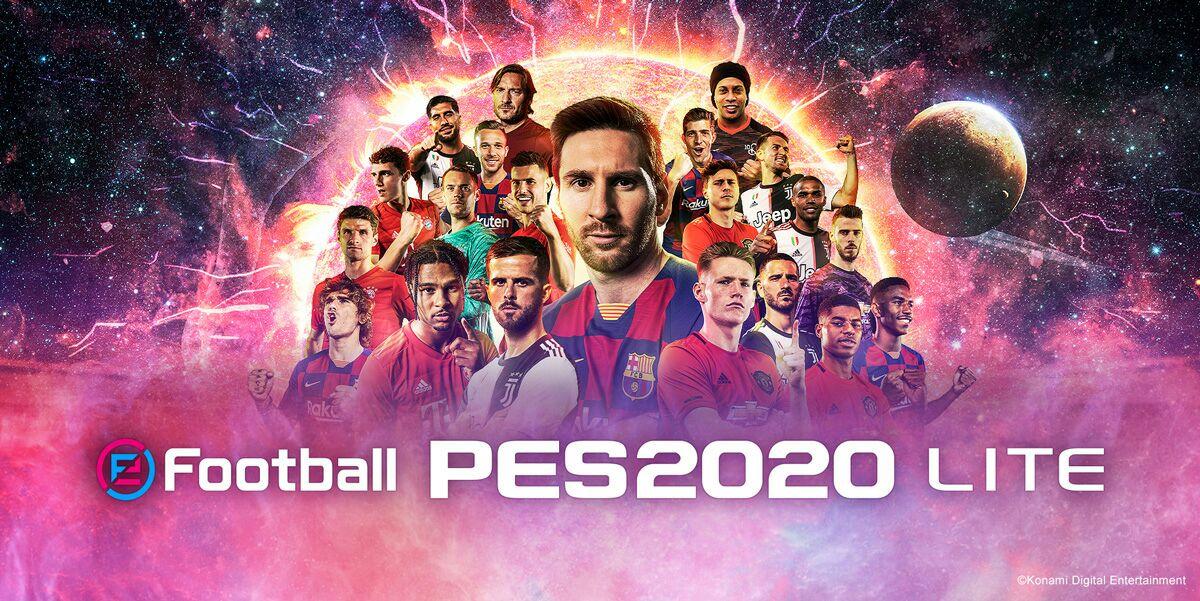 eFootball PES 2020 LITE PS4/XBox/PC