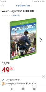 Watch Dogs 2 XBOX One/PS4